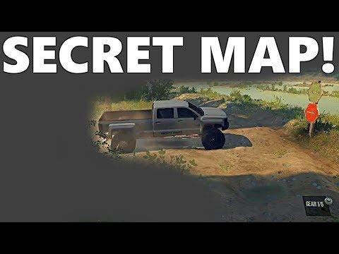 SpinTires MudRunner: SECRET MAP