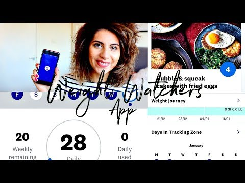 WEIGHT WATCHERS APP 2019 | HOW TO TRACK FOOD & WEIGHT, IS IT WORTH IT THE MONEY ? HOW IT ALL WORKS