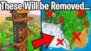 6 LOCATIONS IN FORTNITE THAT WILL BE REMOVED IN 2019!