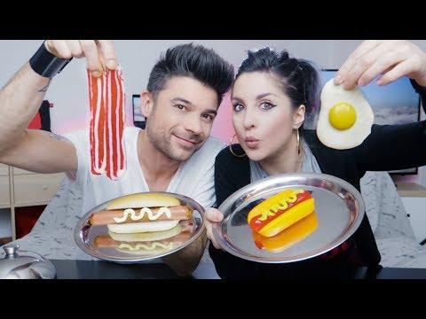 GUMMY FOOD VS REAL FOOD - CARAMELLE CHE NON AVETE MAI VISTO