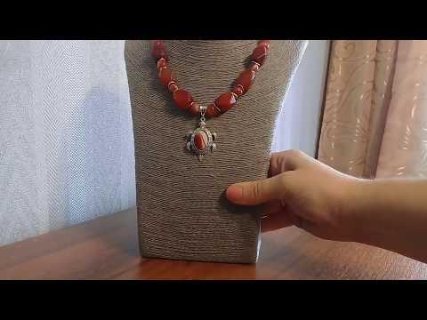 Авторские украшения из натуральных камней 2 часть.