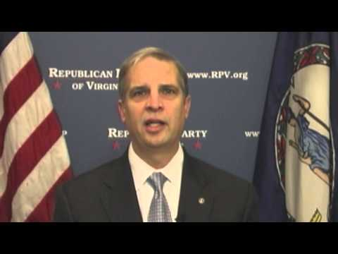Sen. Mark Obenshain Delivers the Weekly Virginia Republican Address