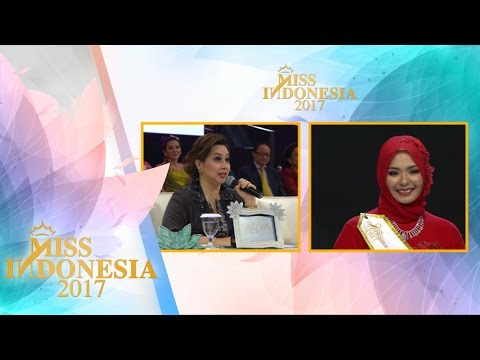Miss Aceh 'TOP 15 Pertanyaan Juri' I Miss Indonesia 2017
