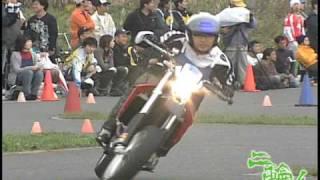 MotorCycle Gymkhana by aprilia SXV