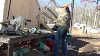 Truck Work ~ Greenhouse Work ~ Pallet Wood Coffee Coasters