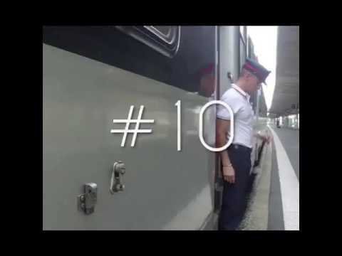 Un contrôleur danse sur SNCF Remix by Djlyprod (Danseur : Aurélien.Clbo)