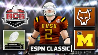 BCS National Championship | NCAA 14 Dynasty Ep. 64 (S5)