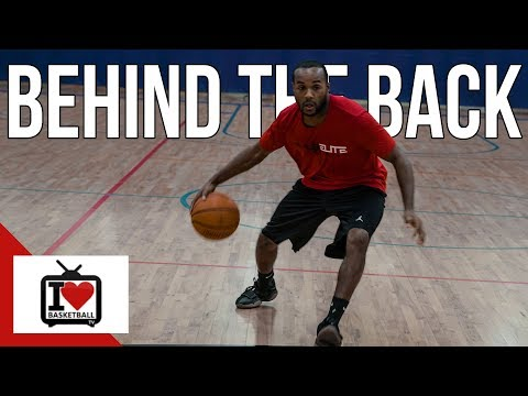 How To: Behind The Back Dribble Basketball Move!