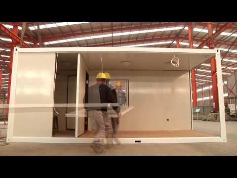 20ft flatpack container house