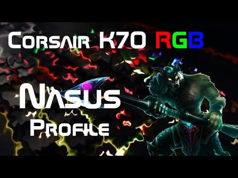 a578d6c068f Corsair K70 RGB Custom Profile - NASUS from LoL by Rockruff