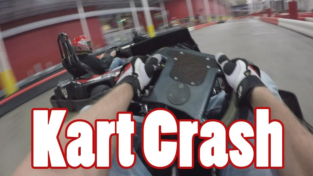 Go Kart Crash K1 Speed