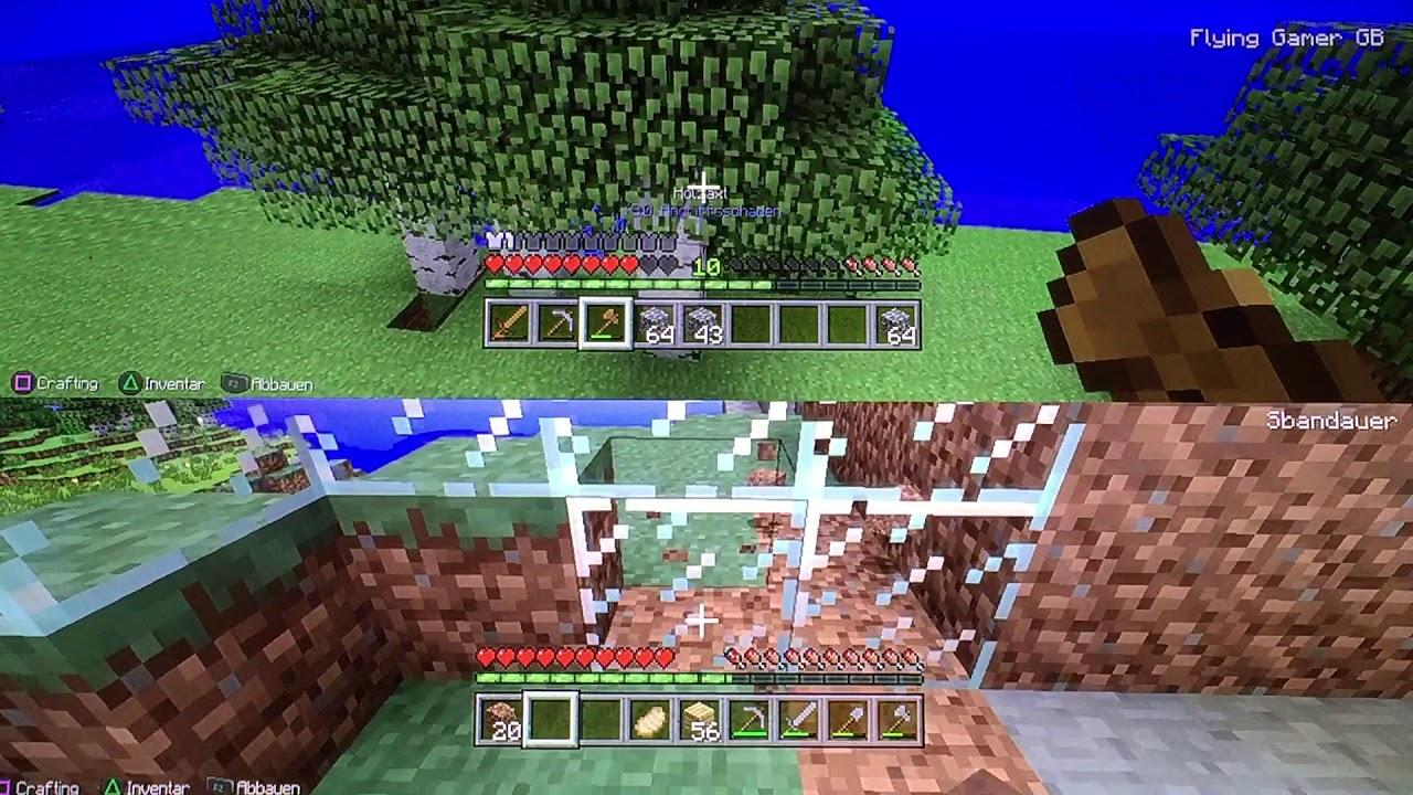 Zwei Idioten Spielen Minecraft YouTube - Minecraft auf zwei pc spielen