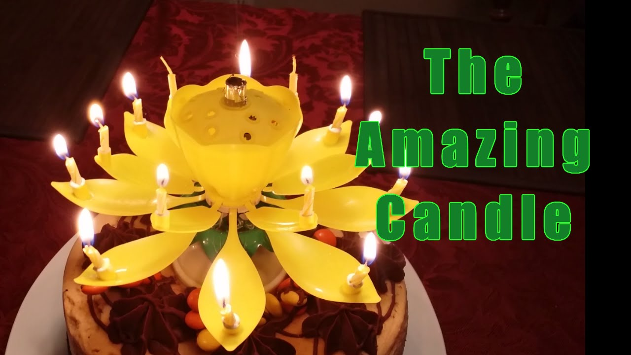 Amazing Birthday Candle