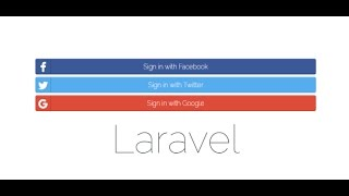 How to login with facebook,twitter and google in laravel 5.3 part(1/3)