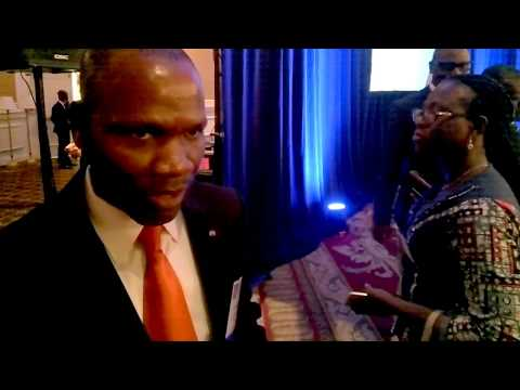 CI Africa interviews Central African Republic Industry Minister Come Hassan #AFRICABIZSUMMIT