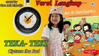 Terbaik || VERSI LENGKAP Lirik Lagu Teka Teki || cover by Ceo Jati Atmodjo