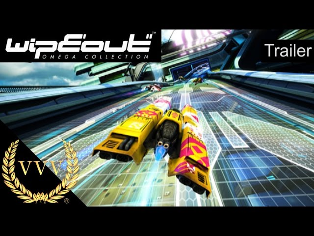 WipEout Omega Collection Announcement Trailer