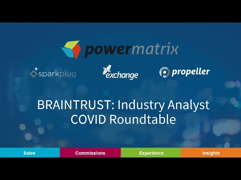 BRAINTRUST: Industry Analyst COVID Roundtable