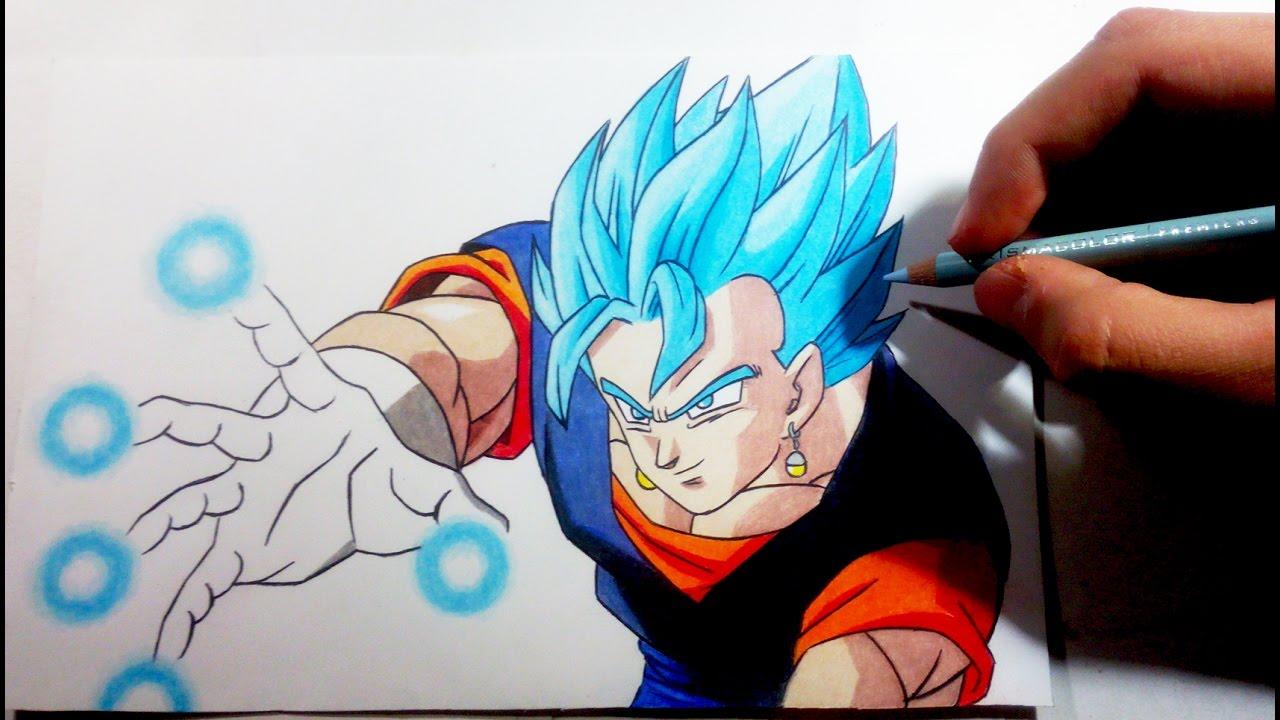Fotos De Vegeta Color Azul: Como Dibujar A Vegetto Super Saiyajin Azul