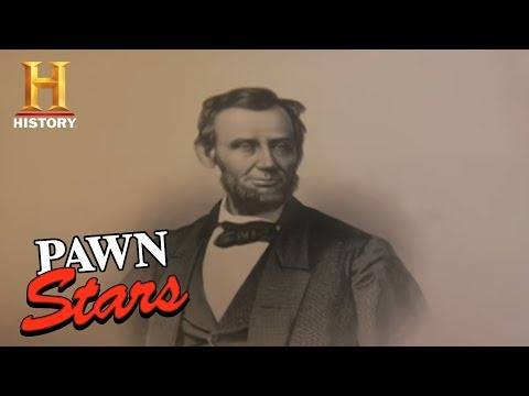 Pawn Stars - Lincoln Memorial | History