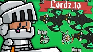 500 KNIGHT ARMY (BIGGEST EVER) SERVER RECORD - LORDZ.IO