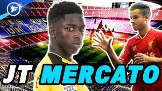 Le Barça décolle pour Dembélé et Coutinho   Journal du Mercato