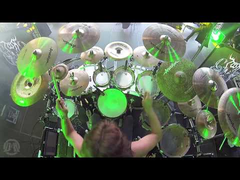 ROOT@Leviathan-PaulDread-Live in Brutal Assault 2017 (Drum Cam)