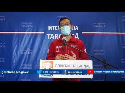 Punto de prensa 11 de agosto de 2020 - Gobierno Regional de Tarapacá