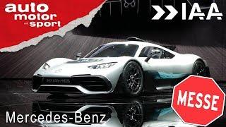 IAA 2017 – die größten Highlights vom Mercedes-Stand | auto motor und sport