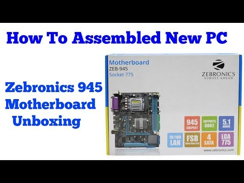 How To Assembled New PC