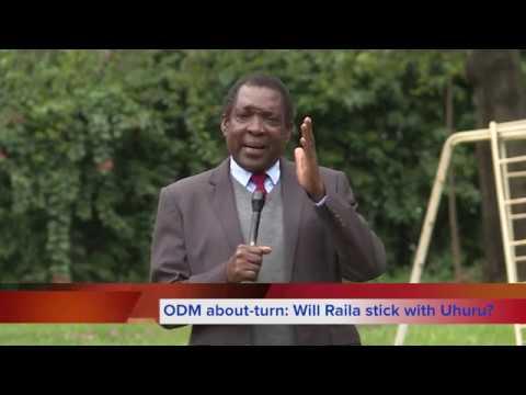 ODM about-turn: Will Raila leave Uhuru?