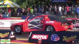 Bhola RX7 Accident - He is OK @ The Ultimate Shootout Drags August 2017