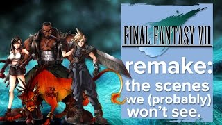 Final Fantasy 7 remake - the scenes we probably won