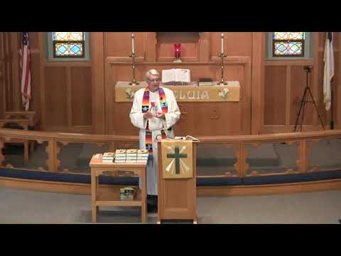 Zion Sunday Service, April 25th, 2021, Catechisms and Bibles given out.