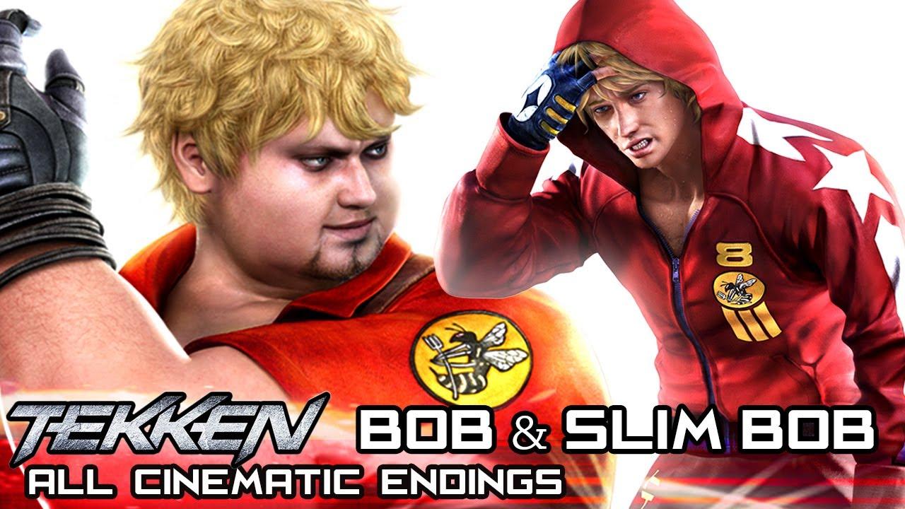 Robert Bob Richards All Cinematic Endings In Tekken Series 2007 2017 Youtube