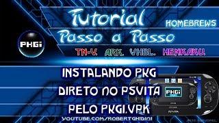 [PSVITA 3.60] INSTALANDO PKG COM PKGI.VPK - Freeshop