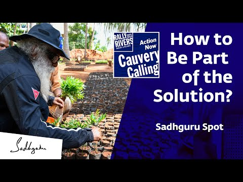 Cauvery Calling How to Be Part of the Solution? - Sadhguru Spot