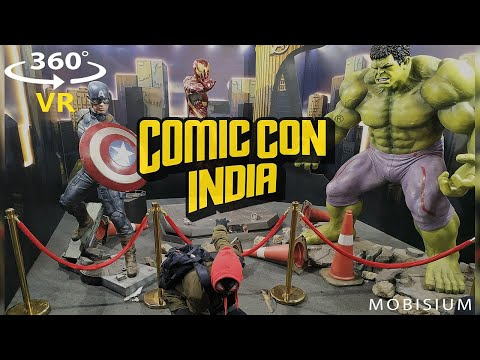 360 VR Comic Con 2018   Mumbai