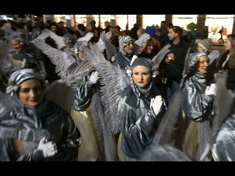 The Joan of Arc parade kicks off Mardi Gras 2018 in New Orleans