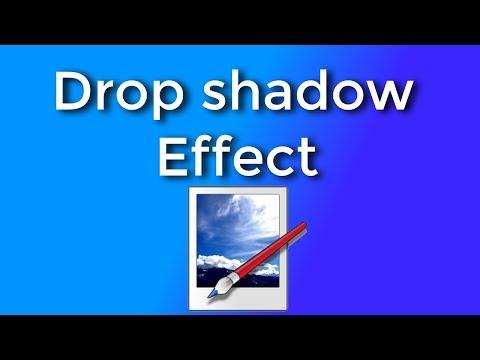 Paint.net Tutorial: Drop Shadow effect (No Plugins)