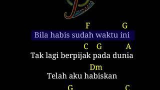 Surat cinta untuk starla chord gitar (karaoke)