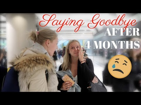 MY LAST DAYS ABROAD + GOODBYES