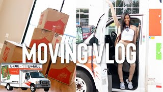 ATLANTA MOVING VLOG: MOVE IN DAY + Empty ATL apartment tour
