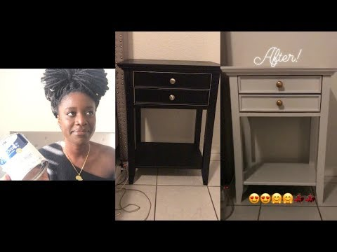 DIY: How To Paint Furniture Without Sanding | Nightstand Makeover