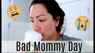 HOW I DEAL WITH A BAD MOMMY DAY | REAL LIFE