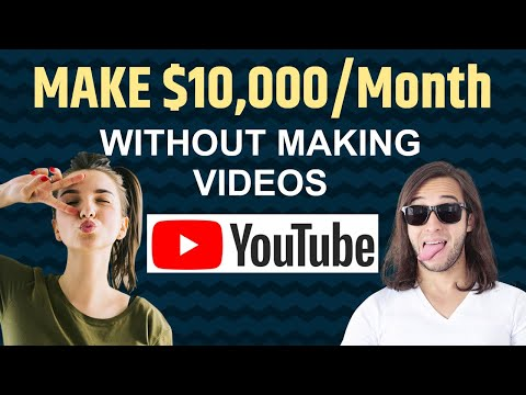 How To Make Money on YouTube Without Making Any Videos | Beginner Friendly