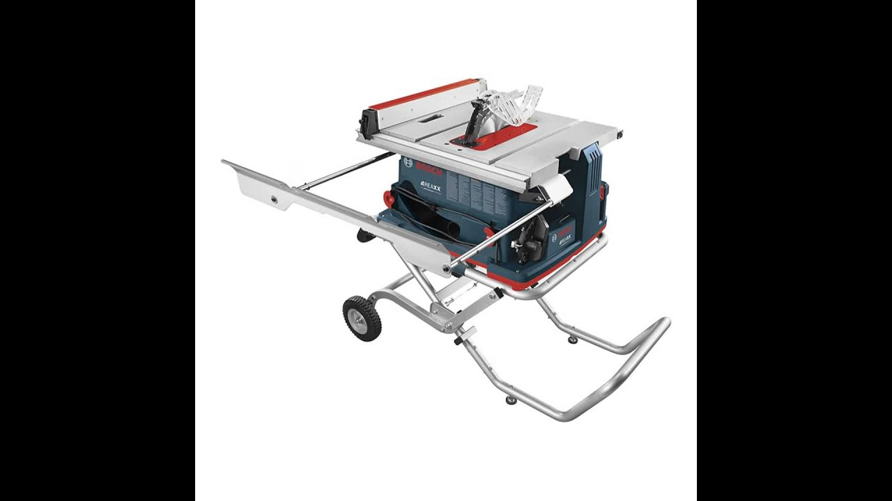 Makita 2705x1 10 Inch Contractor Table Saw With Stand Youtube