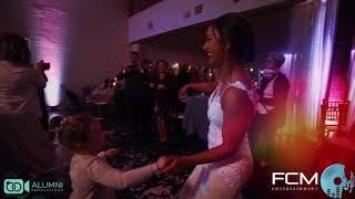 FCM Entertainment video shots of Emma and Marshall Wedding
