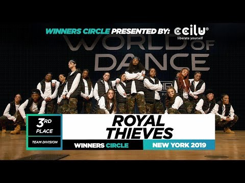 Royal Thieves | 3rd Place Team | Winners Circle | World of Dance New York 2019 | #WODNY19
