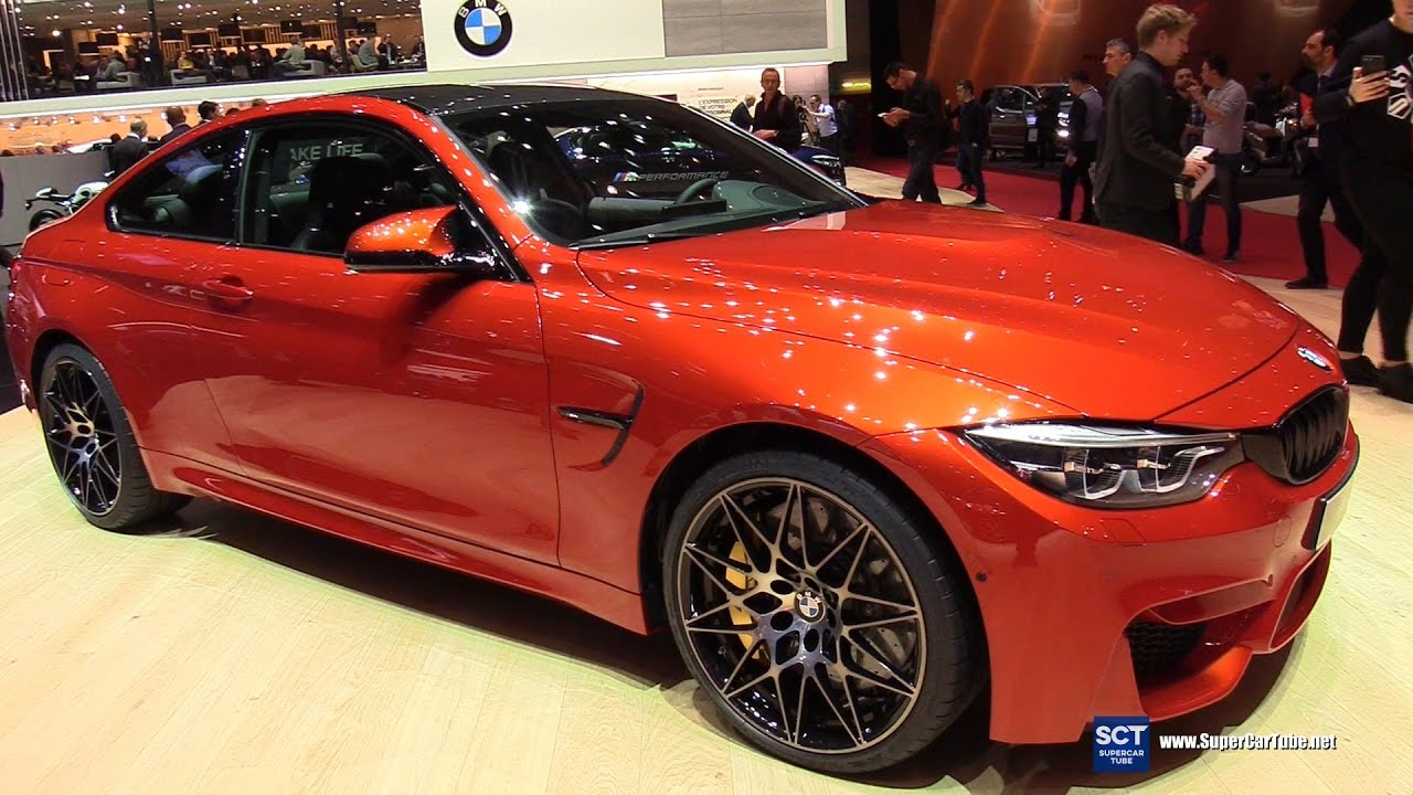 2018 Bmw M4 Coupe Exterior And Interior Walkaround Debut 2017 Geneva Motor Show
